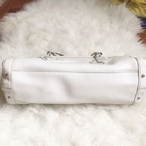 Cole Haan Bags - Cole Haan trinity white leather satchel